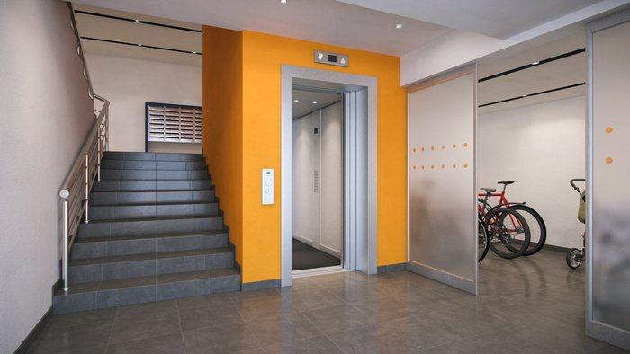 плюсы квартиры в новостройке лифт