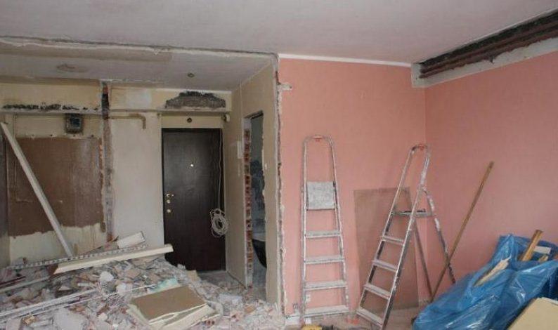 Перепланировка и ремонт, фото