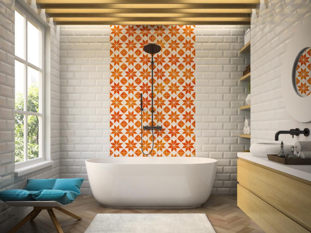 плитка для ванной мозайка