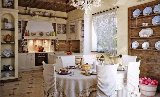 этно стиль кухни