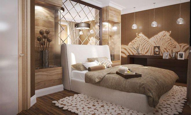 спальня в стиле этно