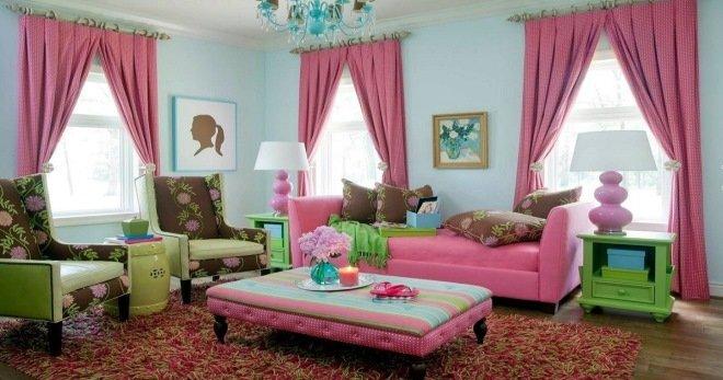 пыльно розовый цвет