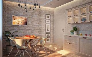 6 идей для отделки стен на кухне