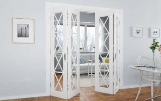 Складные двери – какие выбрать и как их установить?