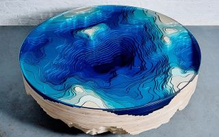 Столы, вдохновленные глубинами океана