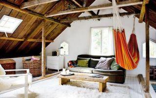 Комната на чердаке — мечта детства