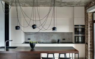 6 интересных альтернатив плитке на кухне