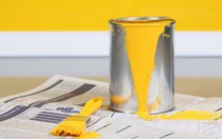 Руководство по ремонту: как удалить пятна краски?