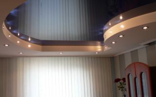 Подвесной потолок — преимущества и недостатки