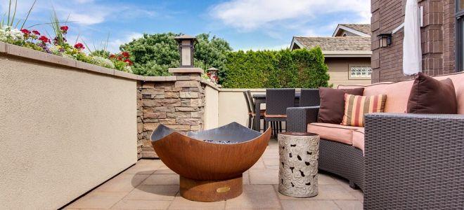 Садовый камин. Нужен ли очаг в саду?
