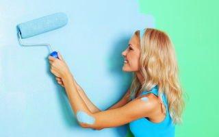 Покраска стен — как рассчитать количество краски и выбрать инструменты?