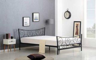 Металлическая кровать – стиль, неподвластный времени