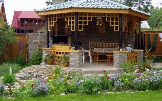Садовая беседка — комфорт, функциональность и украшение сада!