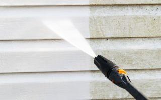 Способы очистки фасада