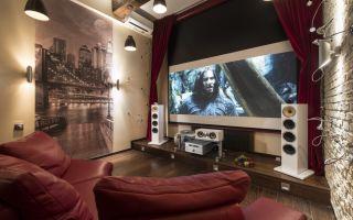 Как устроить домашний кинотеатр? 2 варианта интерьера