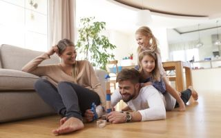 Тёплый пол — дополнительный источник отопления дома