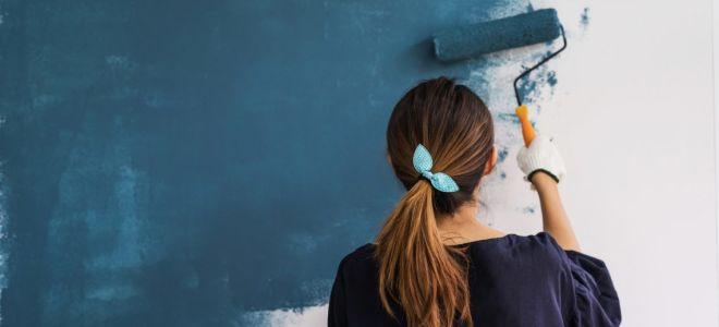 Ошибки при покраске стен