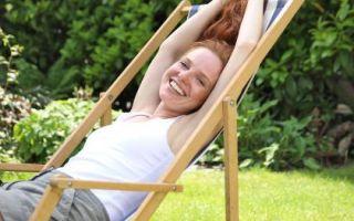 Садовый шезлонг — лучший друг летнего активного отдыха!