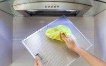 Как почистить фильтр вытяжки за несколько минут