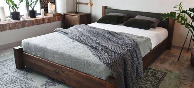 Мягкая или деревянная — какую кровать выбрать в спальню?