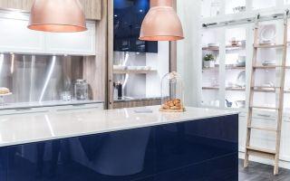 Глянцевая кухня – современные способы элегантного расположения