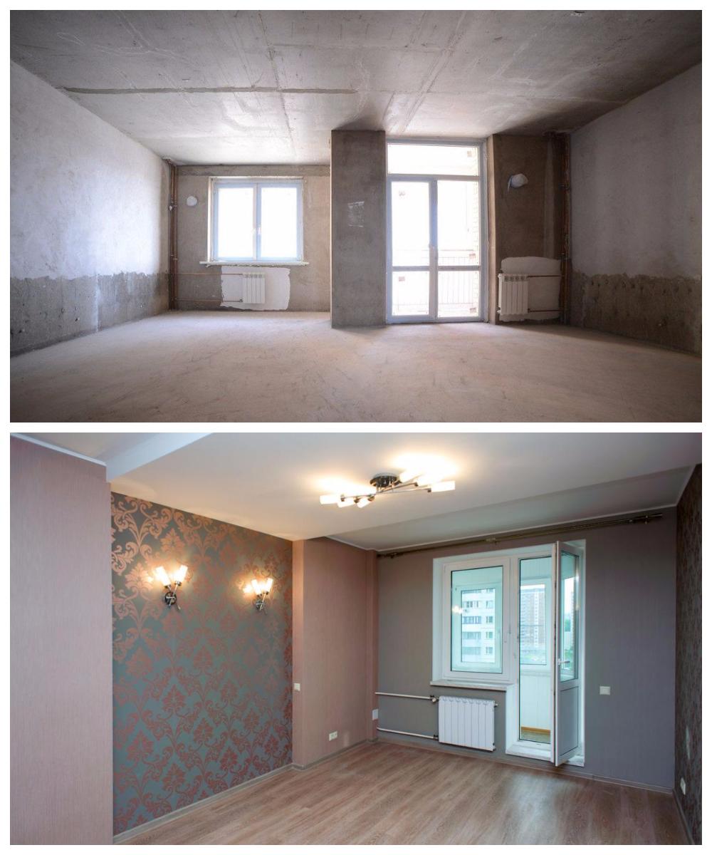 Квартира с ремонтом или без?