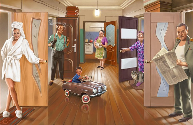 Как наладить отношения с соседями по коммуналке и сохранить их?