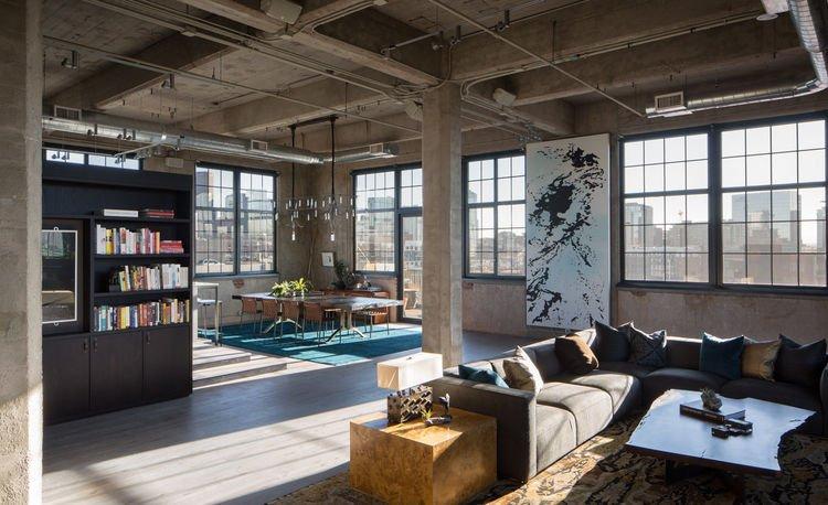 Руководство по стилю интерьера – индустриальный стиль Лофт