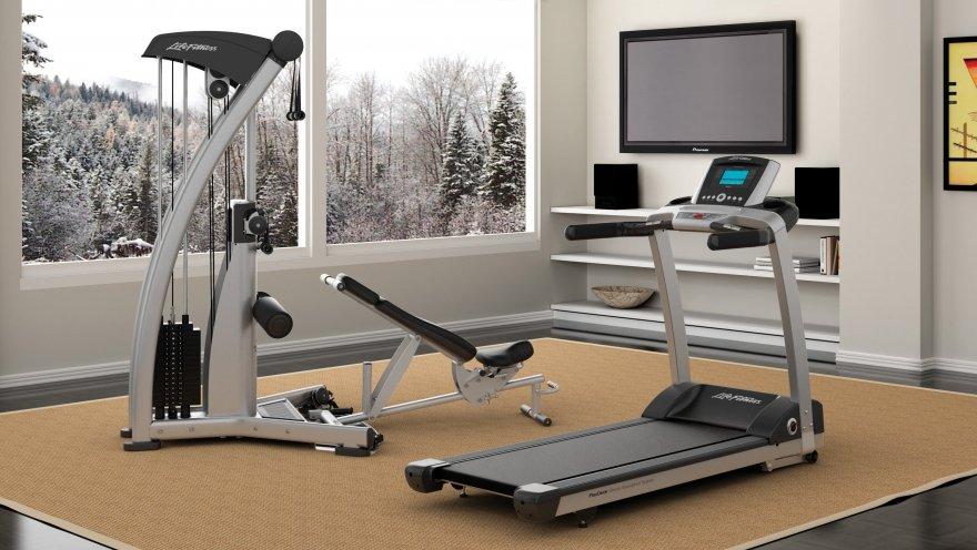 Тренажёрный зал – оборудование для фитнеса и советы по отделке домашнего спортзала