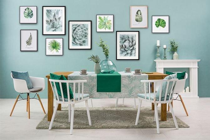 Как создать галерею на стене?