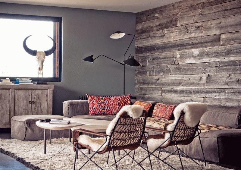 Интересные способы отделки стен в квартире
