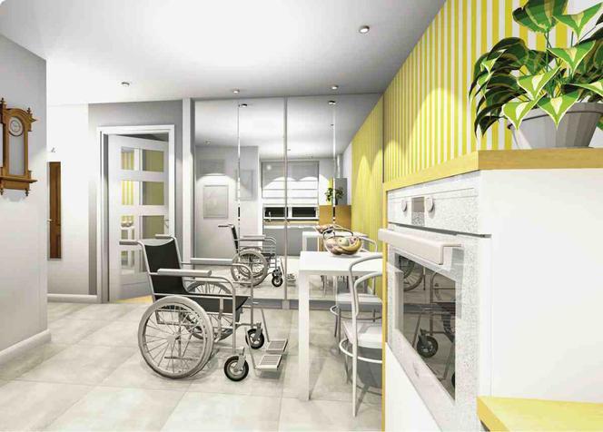 Адаптация квартиры для инвалида колясочника