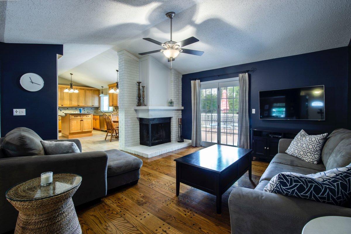 7 идей для голубой гостинной