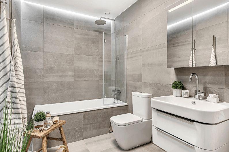Ванна или душ? Как оформить функциональную ванную