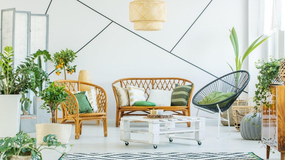 Модные аксессуары для дома – мебель и украшения из лозы и ротанга