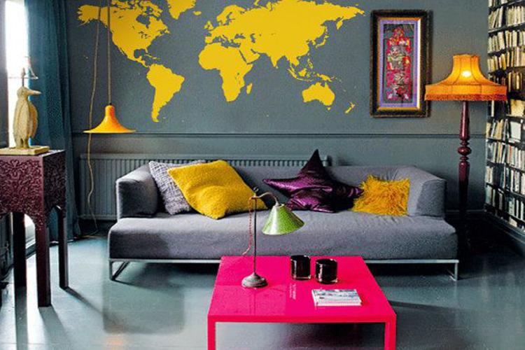 Психология интерьера: цвета для сангвиника