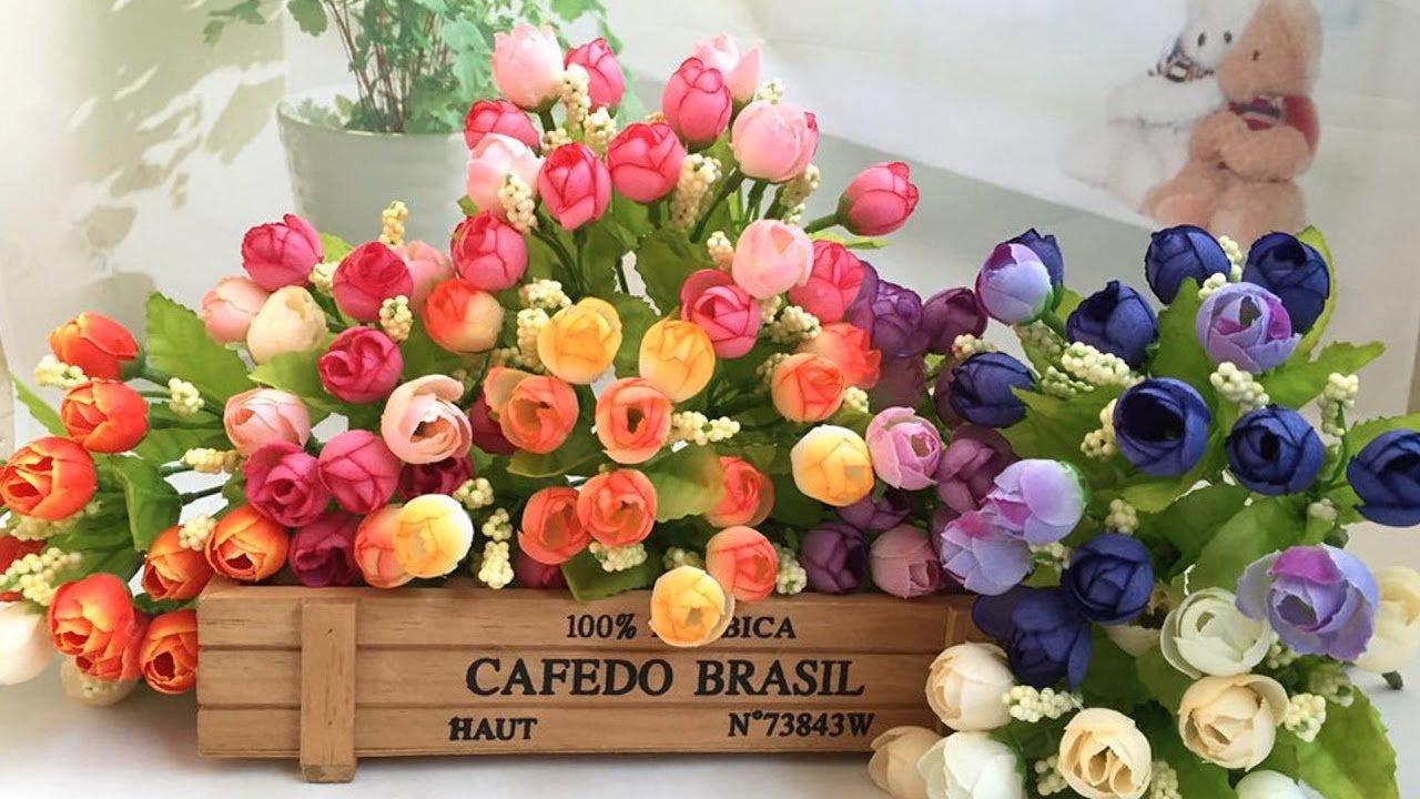 Вдохновение: искусственные цветы
