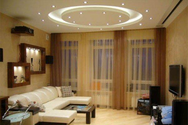 Потолочное освещение для гостиной, спальни и кухни
