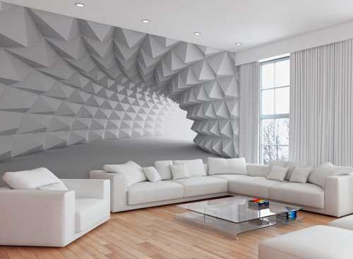 3D обои – умный способ мгновенно изменить интерьер!