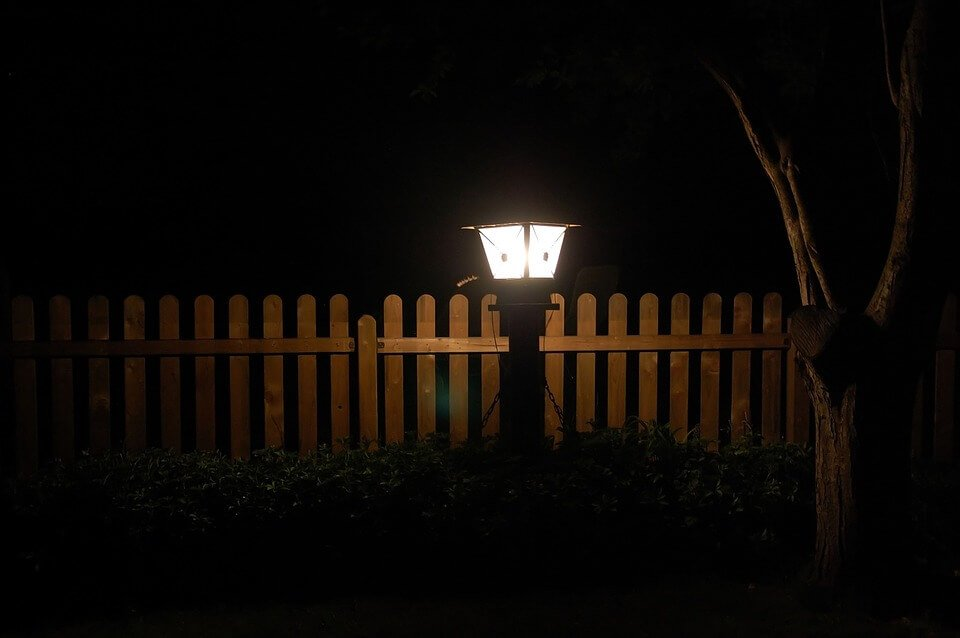 Светодиодное освещение сада