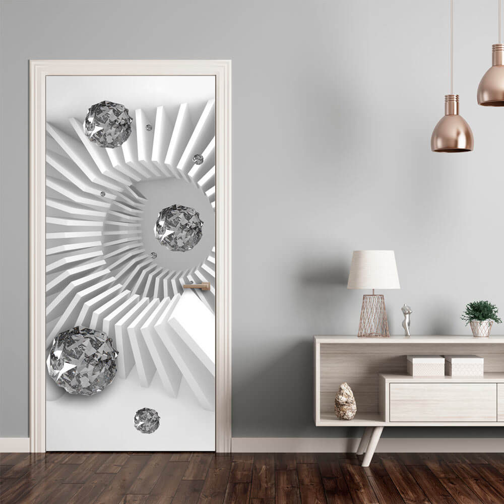 Обои для дверей – эффект, который восхищает!