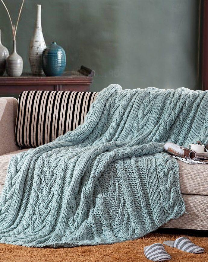Покрывало для дивана: выбираем модную и практичную модель