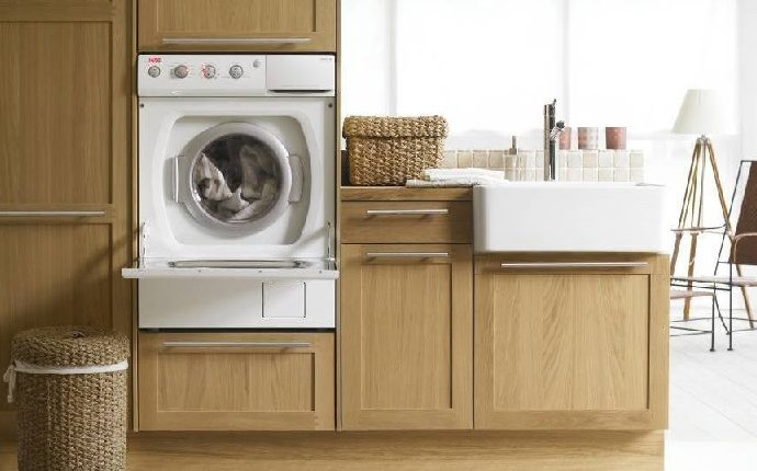 Стиральная машина на кухне? Преимущества и недостатки