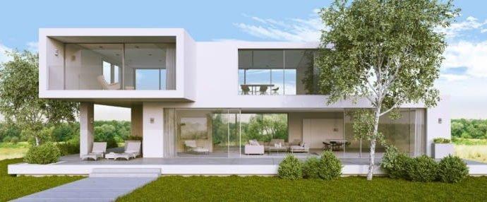 Дом с видом на комфорт – преимущества большого остекления