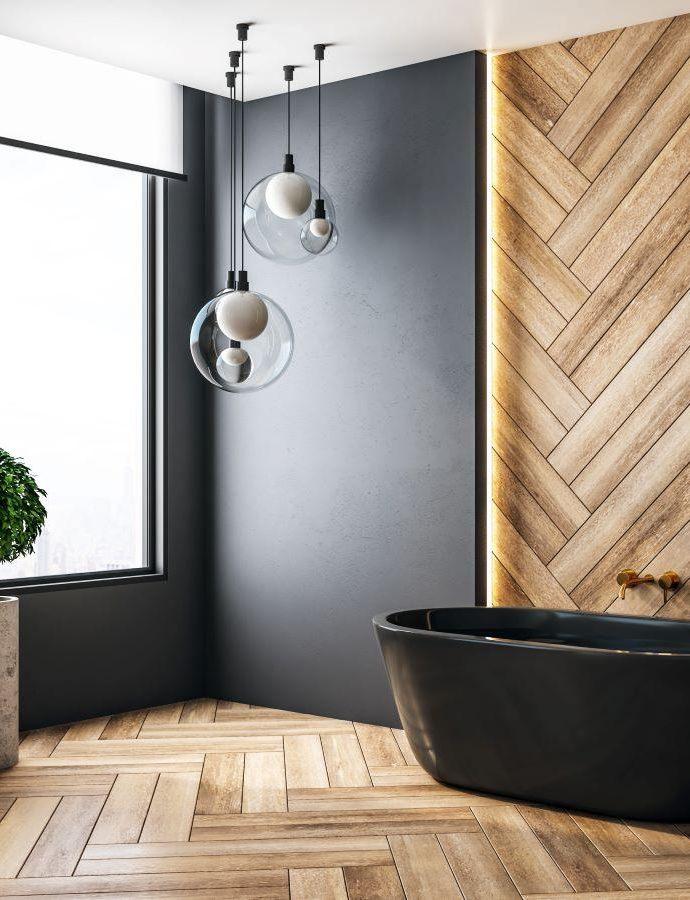 7 идей для модного обустройства ванной комнаты