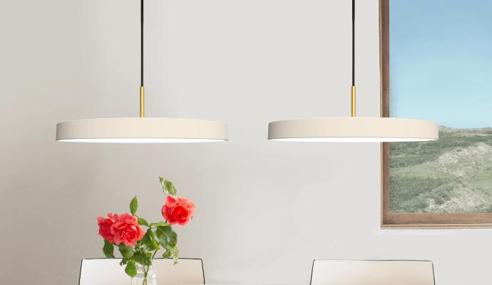 Какого цвета лампы подойдут для белой кухни? Что выбрать