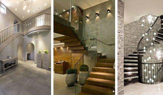 Лестницы – как их освещать и как выбирать лампы