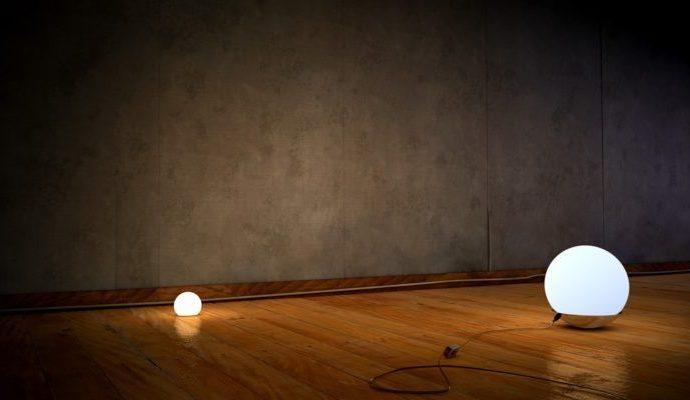 Какие лампы выбрать для неровных стен и потолка?