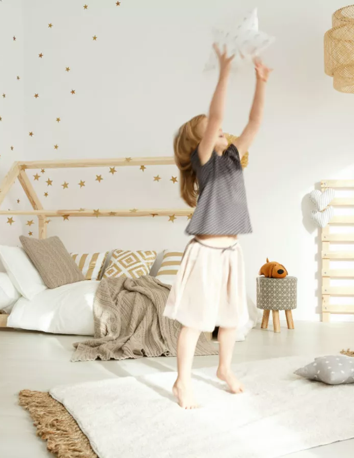 Комната для девочки 7 лет – идеи и меры