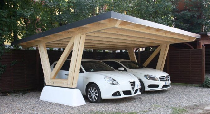 Навес: заменит ли он полноценный гараж?